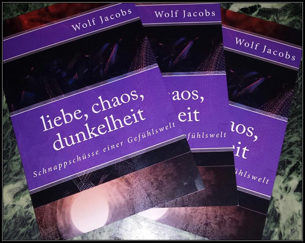 liebe, chaos, dunkelheit - drei Bücher