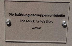 Die Erzählung der Suppenschildkröte