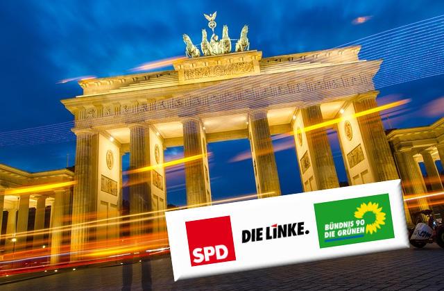 Berlin - Rot-Rot-Grün - pelzblog